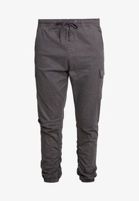INDICODE JEANS - LAKELAND - Cargobukse - dark grey - 4