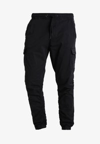 INDICODE JEANS - LAKELAND - Cargo trousers - black - 5