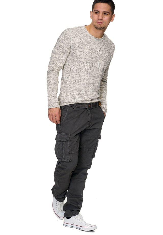WILLIAM - Cargo trousers - grey