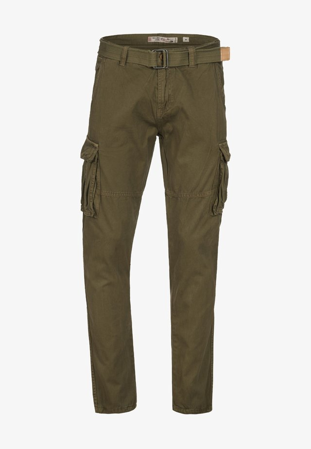 WILLIAM - Cargo trousers - green