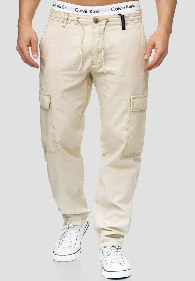 Cargo trousers - fog