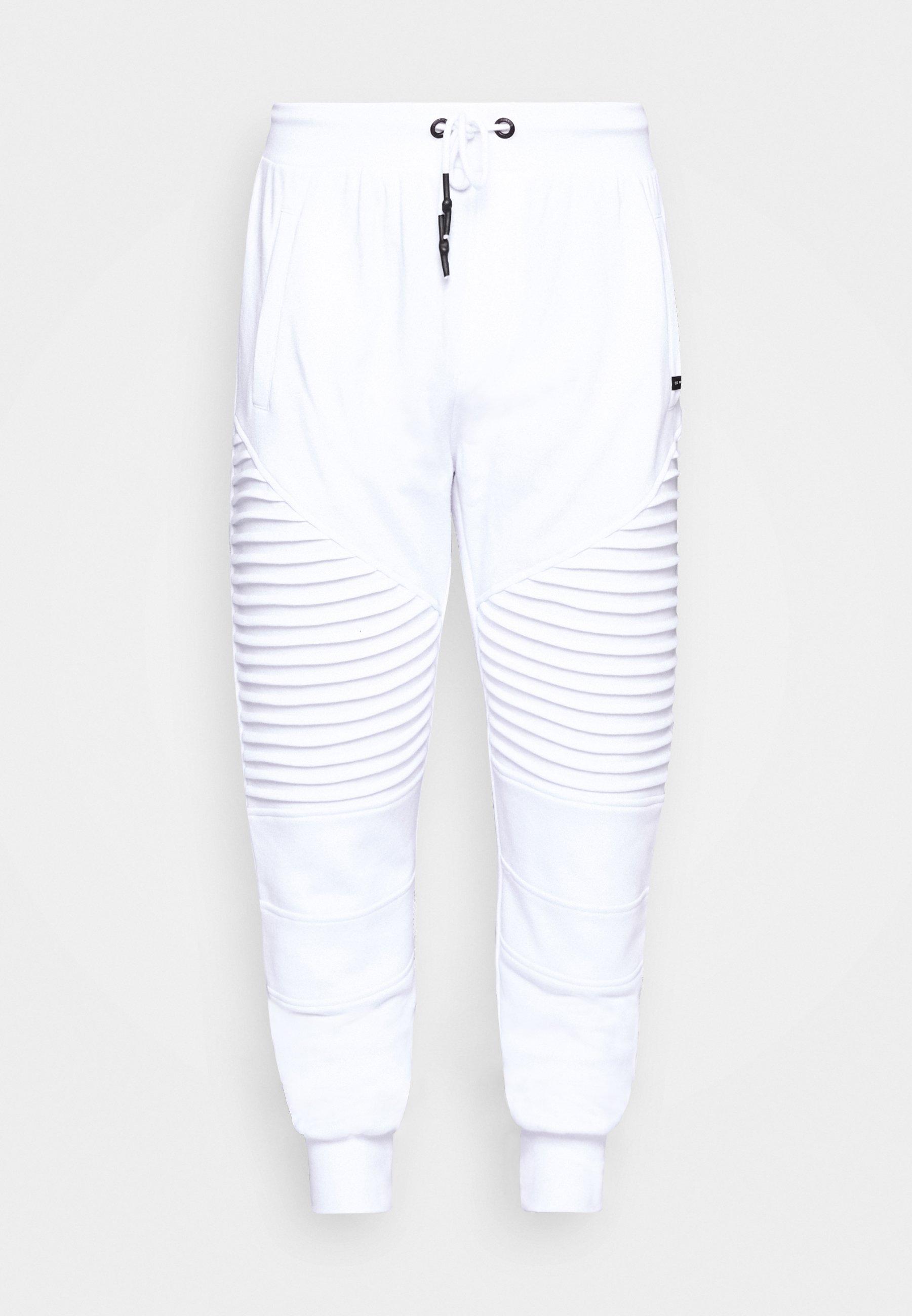 CRISTOBAL Træningsbukser white
