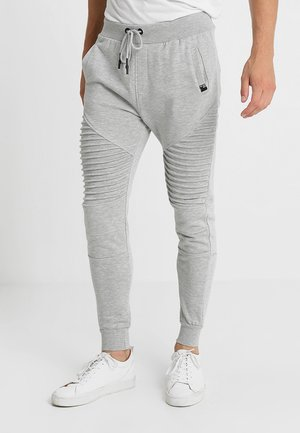 CRISTOBAL - Tracksuit bottoms - grey mix