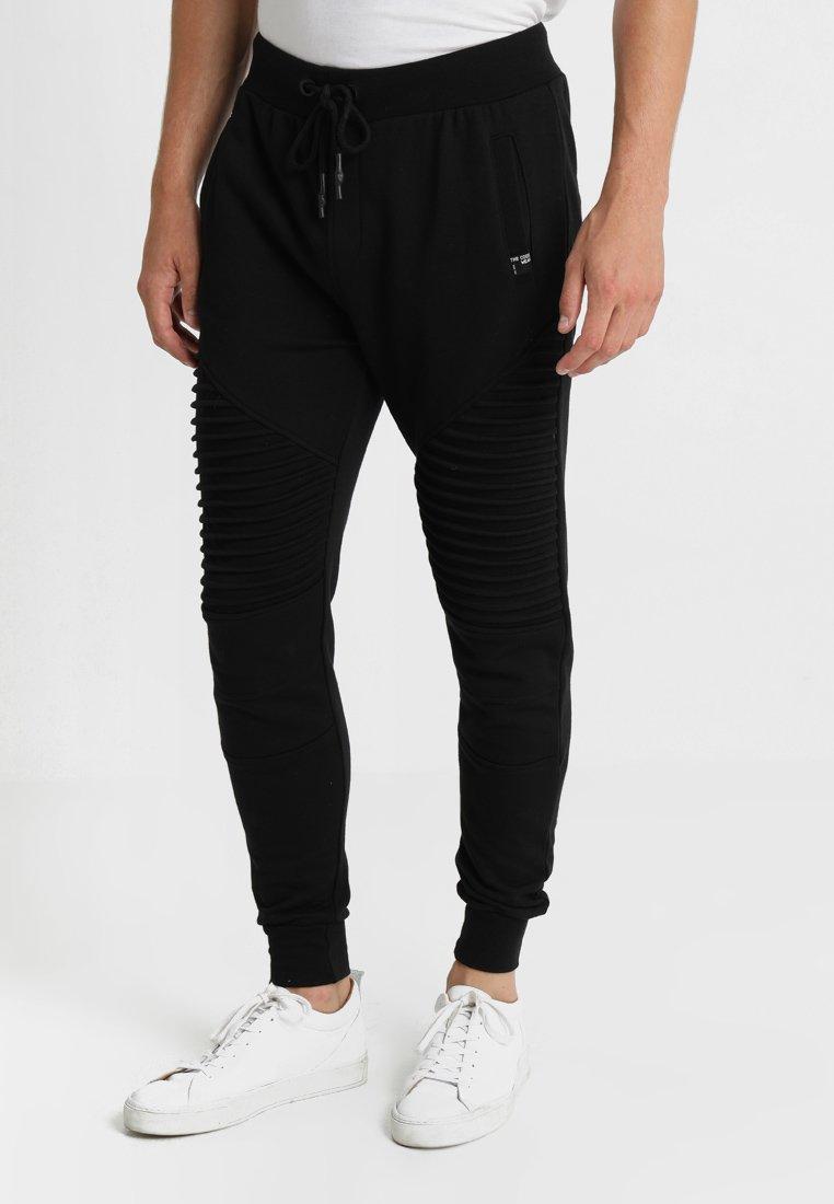 INDICODE JEANS - CRISTOBAL - Teplákové kalhoty - black