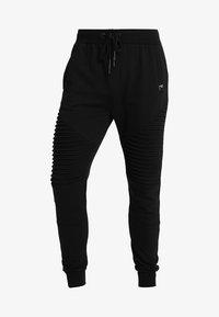 INDICODE JEANS - CRISTOBAL - Teplákové kalhoty - black - 4