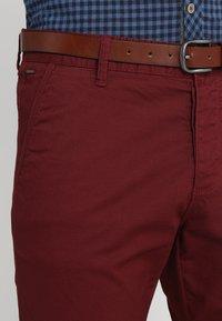 INDICODE JEANS - NELSON - Chino kalhoty - zinfandel - 3