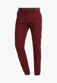INDICODE JEANS - NELSON - Chino kalhoty - zinfandel - 4