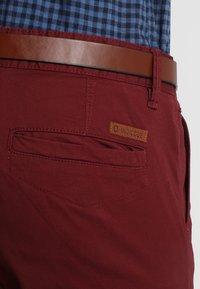 INDICODE JEANS - NELSON - Chino kalhoty - zinfandel - 5