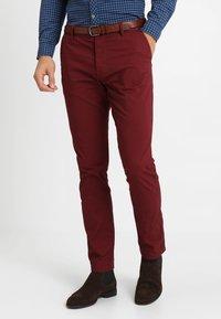 INDICODE JEANS - NELSON - Chino kalhoty - zinfandel - 0