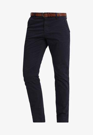NELSON - Chino kalhoty - navy