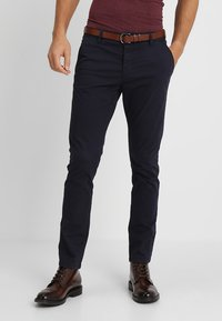 INDICODE JEANS - NELSON - Chinos - navy - 0