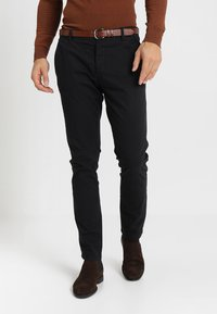 INDICODE JEANS - NELSON - Chinos - black - 0