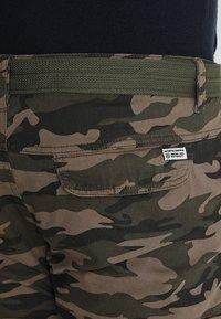 INDICODE JEANS - WILLIAM PLUS - Cargo trousers - dired - 5