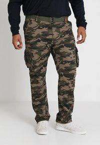 INDICODE JEANS - WILLIAM PLUS - Cargo trousers - dired - 0