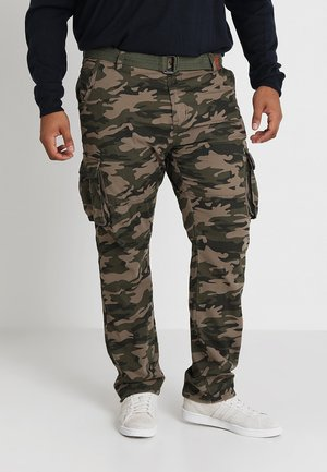 WILLIAM PLUS - Pantalon cargo - dired