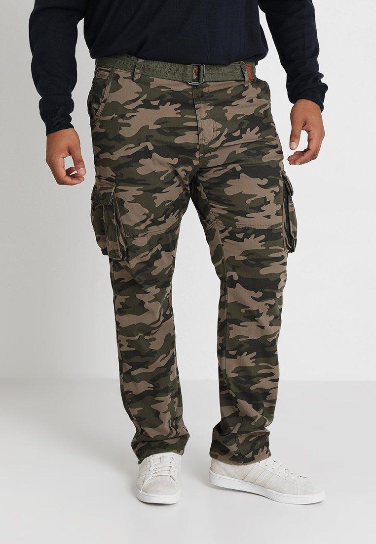 INDICODE JEANS - WILLIAM PLUS - Cargo trousers - dired