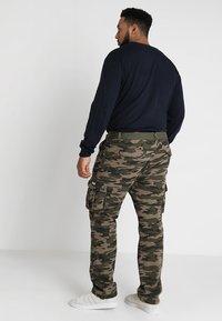 INDICODE JEANS - WILLIAM PLUS - Cargo trousers - dired - 2