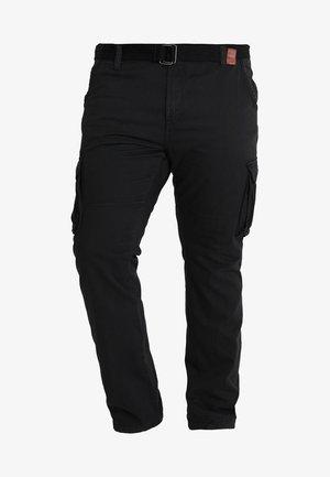 WILLIAM PLUS - Pantaloni cargo - black
