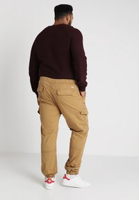 INDICODE JEANS - LEVI PLUS - Cargo trousers - amber - 2