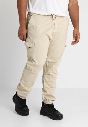 LEVI PLUS - Cargo trousers - fog