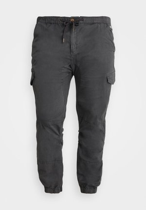 LEVI PLUS - Cargo trousers - raven