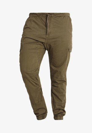 LEVI PLUS - Cargo trousers - army