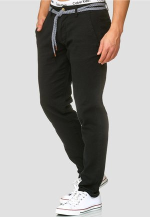 HAVER - Trousers - black