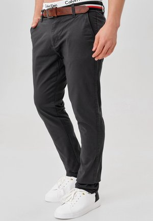 CHERRY - Chinos - dark grey