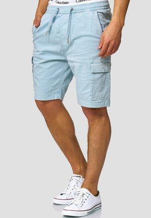 KINNAIRD - Shorts - light blue
