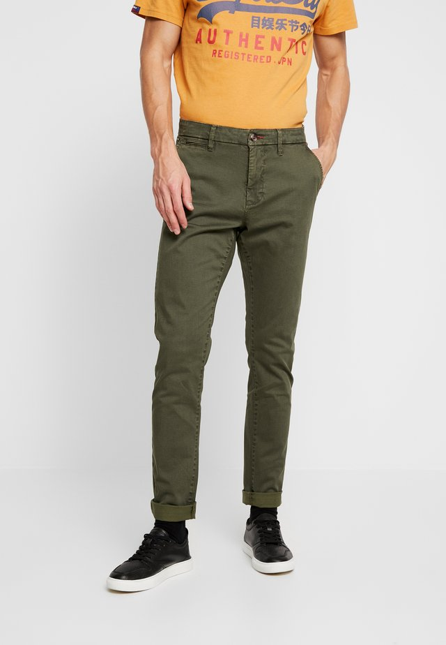 NORFOLK - Trousers - dark olive