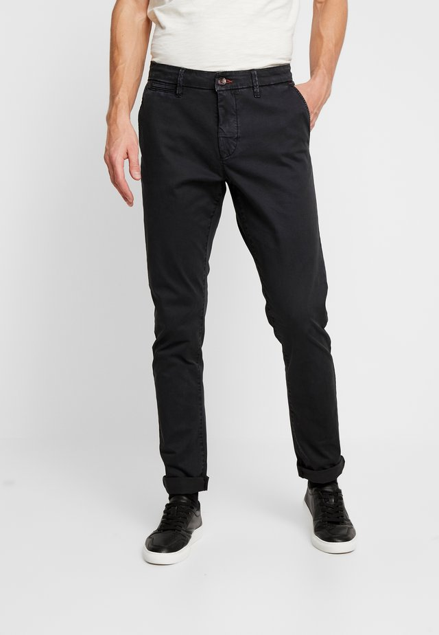 NORFOLK - Trousers - black