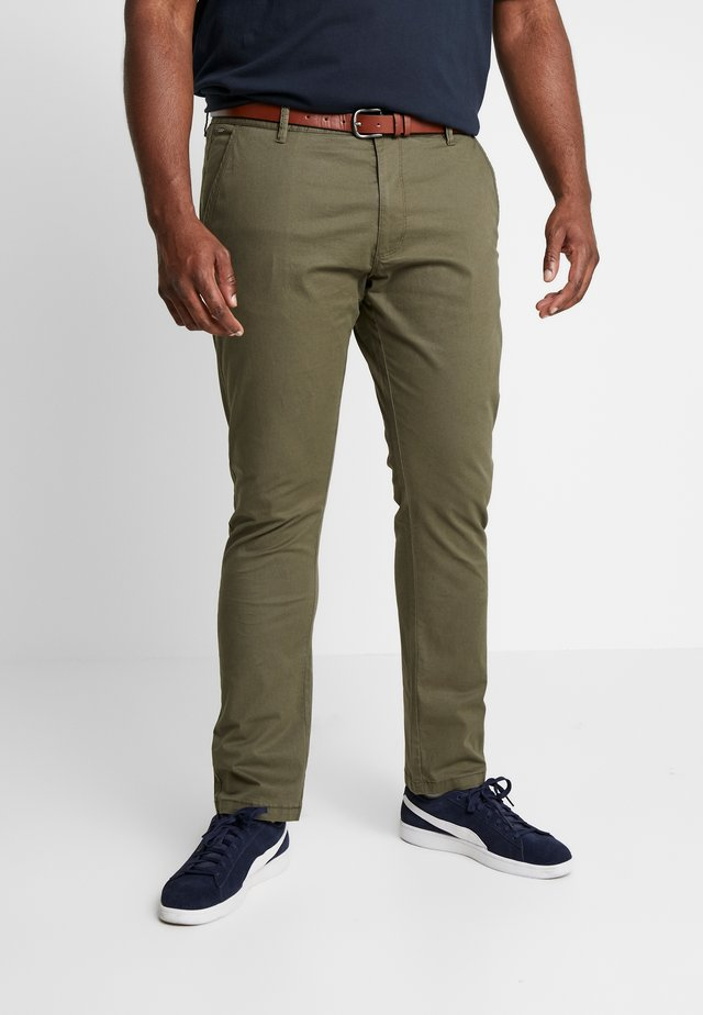 NELSON - Chinos - army