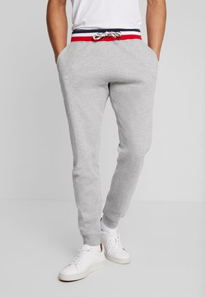 OVIEDO - Tracksuit bottoms - light grey mix