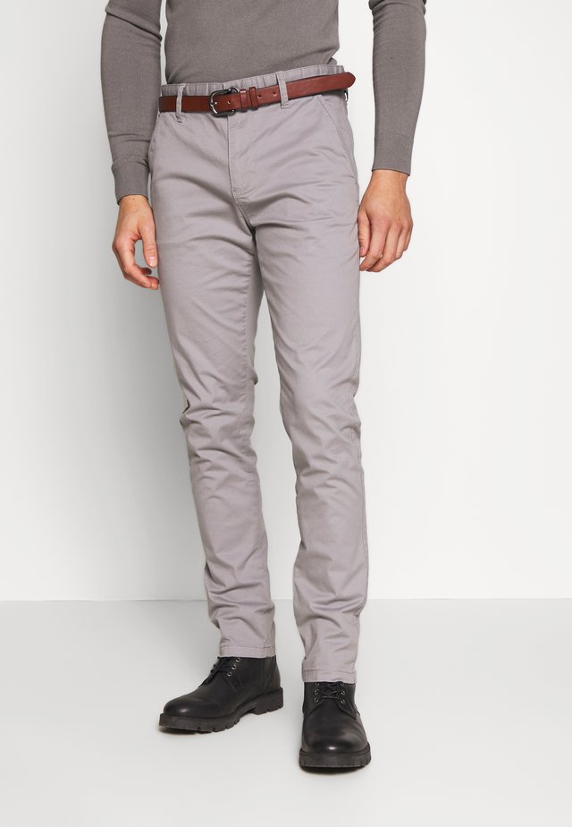 GOWER - Chino kalhoty - light grey