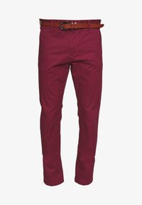 INDICODE JEANS - GOWER - Chino kalhoty - red ochre - 3