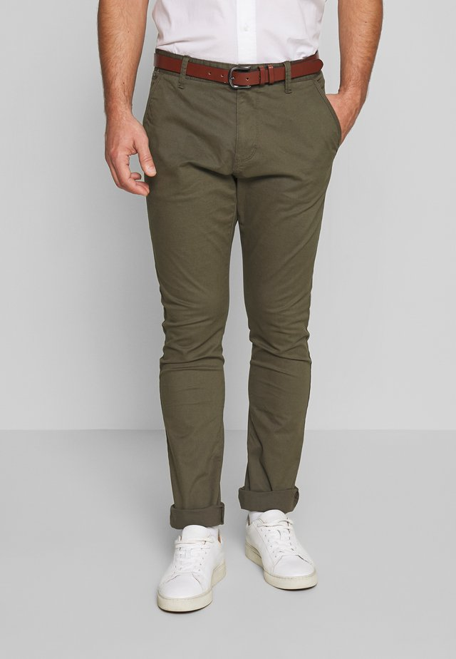 GOWER - Chinos - army