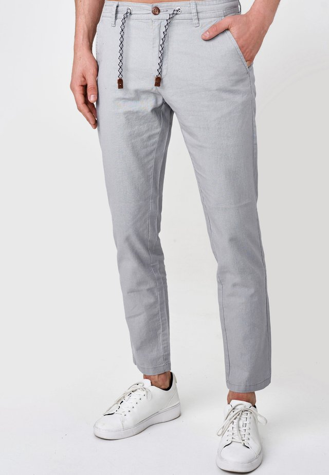 BOULWARE - Trousers - lt grey
