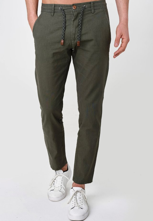 BOULWARE - Trousers - army