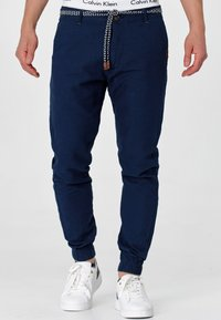 INDICODE JEANS - Trousers - navy - 0