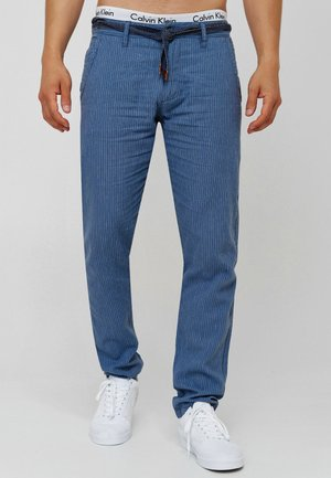 LEINENHOSE ARONA - Trousers - china blue