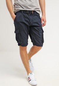 INDICODE JEANS - MONROE - Shorts - navy - 3