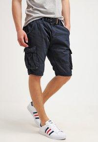 INDICODE JEANS - MONROE - Shorts - navy - 0