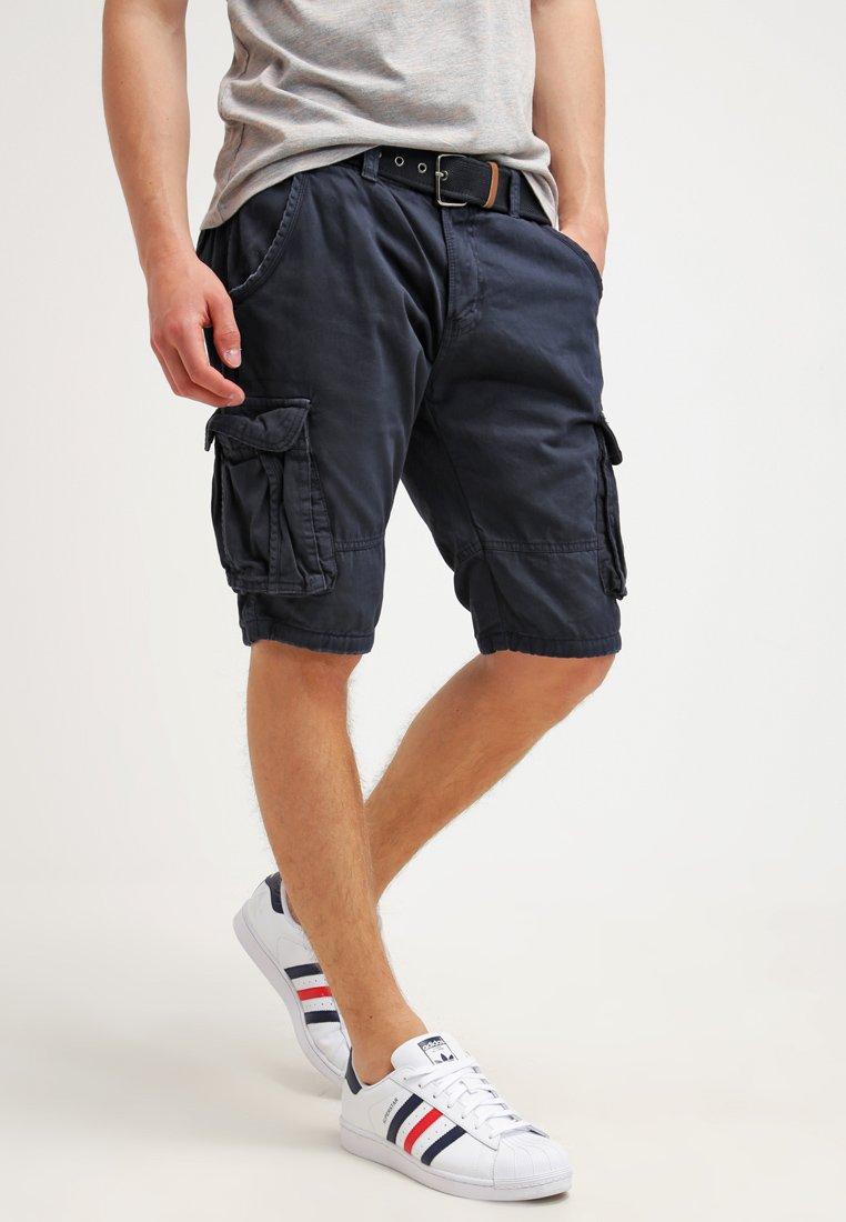 INDICODE JEANS - MONROE - Shorts - navy