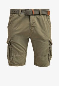 INDICODE JEANS - MONROE - Shorts - army - 6