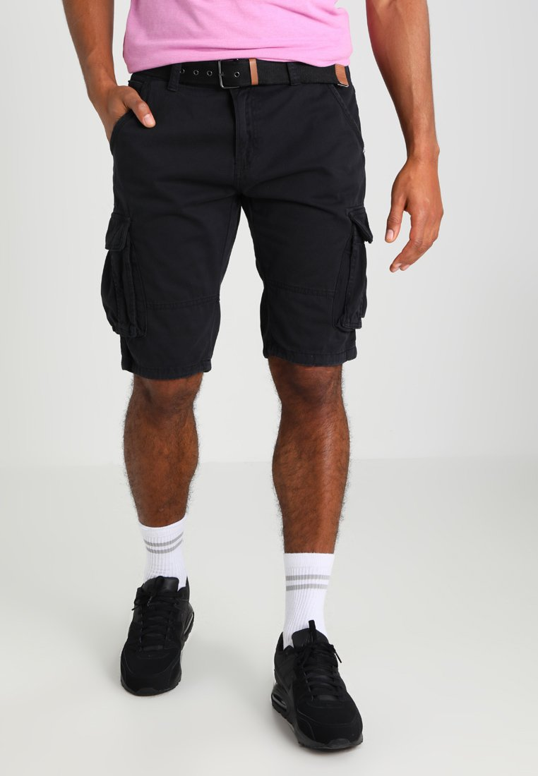 INDICODE JEANS - MONROE - Shorts - black