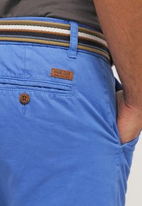 INDICODE JEANS - ROYCE - Shorts - palace blue - 4