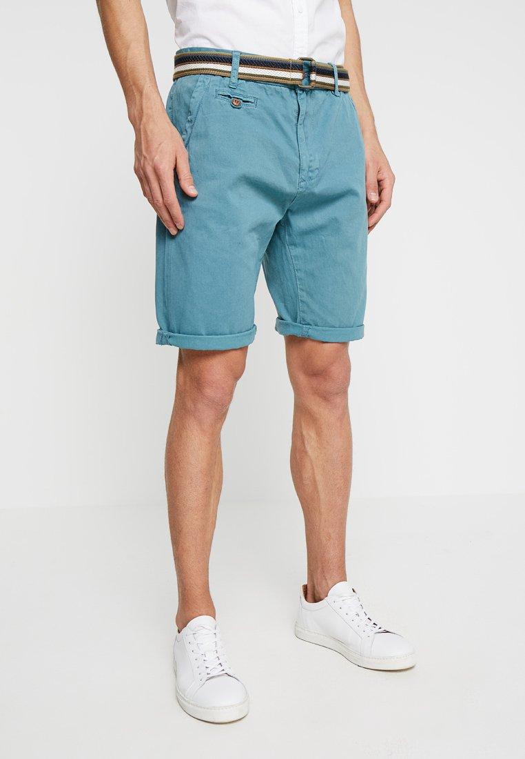 INDICODE JEANS - ROYCE - Shortsit - aegean blue