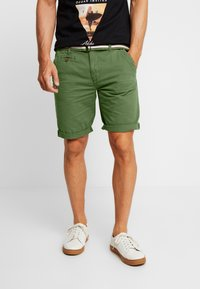INDICODE JEANS - ROYCE - Shorts - army - 0