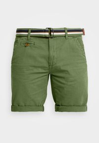 INDICODE JEANS - ROYCE - Shorts - army - 4