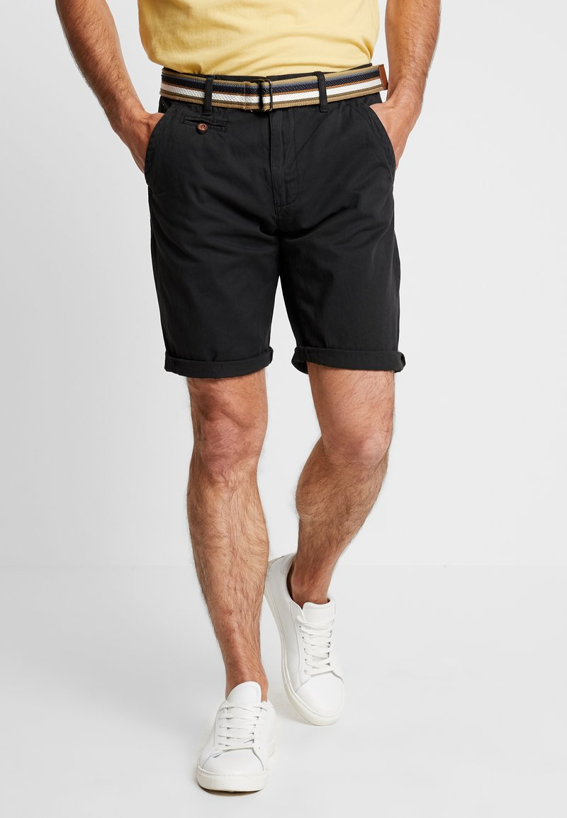 INDICODE JEANS - ROYCE - Shorts - black